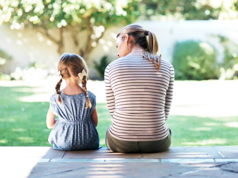 Come affrontare la tristezza del lutto con bambini