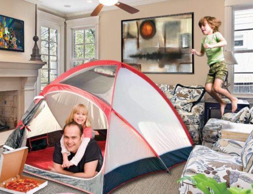 idee per stare a casa con bambini